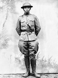 Future President Harry Truman as an Infantryman in World War I, ca 1917 Photographic Print
