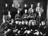 1910 Abilene High School Football Team, on Which President Dwight Eisenhower Played Fotografie-Druck