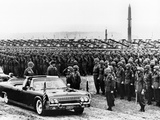 President John Kennedy Inspects 15,000 US Troops in West Germany Photo