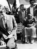 Sen Robert Kennedy Worships with Cesar Chavez Photo
