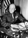 General Dwight Eisenhower, Supreme Commander, Allied Forces During World War II, Jan 18, 1944 Photographic Print