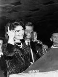 Jacqueline Kennedy Speaking in Spanish to the League of United Latin American Citizens Photographic Print