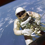 Astronaut Edward White Floats in Space Photographic Print