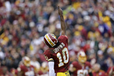 Baltimore Ravens and Washington Redskins NFL: Robert Griffin III Fotografisk trykk av Patrick Semansky