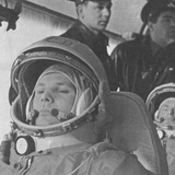 Yuri Gagarin before His Historic 108-Minute Orbital Flight of April 12, 1961 Photographic Print