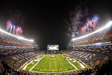 Pittsburgh Steelers and Kansas City Chiefs NFL: Heinz Field Fotografisk trykk av Keith Srakocic