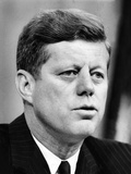 President John Kennedy Speaking in a Press Conference, May 5, 1963 Photographic Print