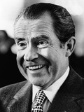 President Richard Nixon Smiling Broadly Photo