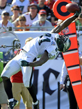 Tampa Bay Buccaneers and Philadelphia Eagles NFL: Jason Avant Photographic Print by Brian Blanco