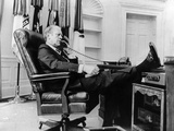 President Gerald Ford&#39;s First Week in Office Photographic Print