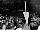 President Richard Nixon's Limousine Was a Target of Anti-War Protesters Prints