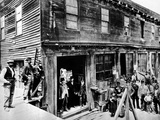 Abe Warner Opened His Saloon on Meigg's Wharf in 1856, and it Soon Was Called the Cobweb Palace Photographic Print