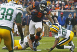 Chicago Bears and Green Bay Packers NFL: Brandon Marshall Fotografisk trykk av Charles Rex Arbogast