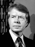 Georgia Governor Jimmy Carter During the His Democratic Primary Campaign, March 21, 1976 Photo
