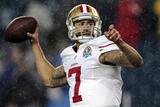 San Francisco 49ers and New England Patriots NFL: Colin Kaepernick Bilder av Steven Senne