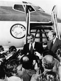 Democratic Vice Presidential Walter Mondale's Campaign Plane Was Christened 'Minnesota Fritz' Fotografía