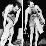 Republican Vice President-Elect Richard Nixon after an Ocean Swim Photo