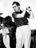 Vice President Richard Nixon Golfing Photographic Print
