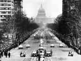 Dwight Eisenhower's Second Inauguration Photographic Print