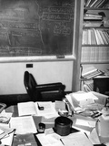 Albert Einstein's Study at the Institute for Advance Study at Princeton University Fotografie-Druck