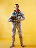 Mercury Astronaut Gordon Cooper Wearing a Spacesuit Photographic Print