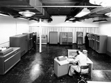 View of New IBM Type '702' Electronic Data Processing Machine, 'Giant Brain' Designed for Business Photographic Print