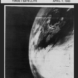 First TV Image of Earth from Space Photographic Print