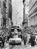 Republican Ronald Reagan Welcomed by Thousands in San Francisco's Financial District, Nov 3, 1966 Photographic Print