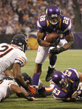Chicago Bears and Minnesota Vikings NFL: Adrian Peterson Photographic Print by Andy King