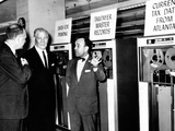 Treasury Secretary Douglas Dillon Dedicated the National Computer Center on Nov 6, 1961 Photographic Print