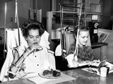 Two Young Women in Rehabilitation after Polio Photo