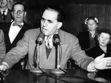 Anthony Anastasia Testifies before Senate Crime Investigating Committee on March 19, 1951 Photo