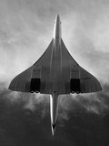 Concorde During a Test Flight over Southern England Photographic Print