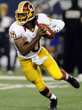 Dallas Cowboys and Washington Redskins NFL: Robert Griffin III Photographic Print by Matt Strasen