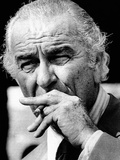Former President Lyndon Johnson Resumed Smoking after He Left the Presidency Photo