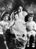 Rose Kennedy with Her Three Eldest Children Photographic Print