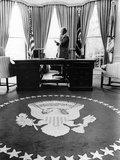 President Gerald Ford's First Week in Office Photographic Print