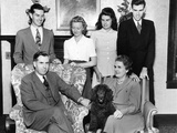 Vice Presidential Nominee Henry Wallace with His Family in Des Moines, Iowa Photo