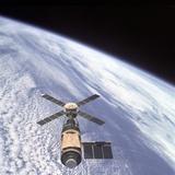 Skylab Orbital Workshop in Earth Orbit Posters