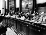 House Judiciary Committee in Deliberations Leading to Impeachment Vote of Pres Nixon, Jul 14, 1974 Photographic Print