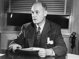 George Kennan in New York on Nov 19, 1951 Photographic Print