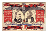 For Pres of US, Grover Cleveland of New York, for VP of US, Allen G Thurman of Ohio, 1888 Prints