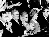 Nixon Family and Administration Listen to Nixon's State of the Union Message Photographic Print