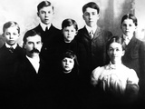 Eisenhower Family in 1902 Photographic Print