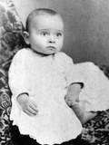 Harry Truman Baby Picture Photographic Print