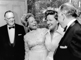 FBI Director J Edgar Hoover Attended a Dinner Honoring Mrs Martha Mitchell Photo