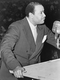 Benjamin J Davis Speaking at the Negro Freedom Rally, Madison Square Garden, New York City Photo