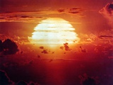 The Apache Shot, Was a 1.85 Megaton Hydrogen Bomb, Enewetak Atoll on July 8, 1956 Stampa fotografica
