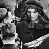 Jacqueline Kennedy at President John Kennedy's Funeral Photo