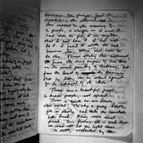 Suicide Note, Written and Signed by Annie Moore Photo